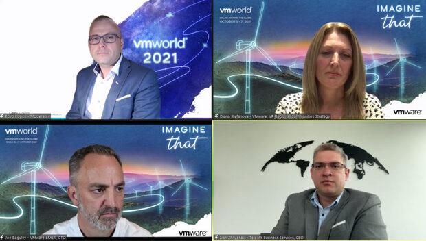 VMworld 2021: Предизвикателствата на работата отвсякъде